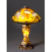 【galle】ガレ・コレクション- テーブルランプ 2灯 アンティークブロンズ「マグノリア」(φ300×H440mm)