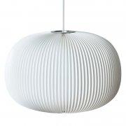 【Le Klint】「Lamella 132 pendant」デザイン照明 ホワイト(Φ460×H330mm)