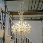 【在庫有!】【LA LUCE】クリスタルシャンデリア 15灯(H1570mm)