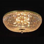 【WRANOVSKY】クリスタルシーリングシャンデリア「Washington」12灯 (W1000×H350mm)
