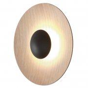 【Marset】「Ginger 32C wall/ceiling lamp, oak」ウォール/シーリングライト オーク(Φ320×D93mm)