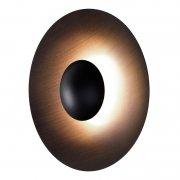 【Marset】「Ginger 32C wall/ceiling lamp, wenge」ウォール/シーリングライト ウェンジ(Φ320×D93mm)