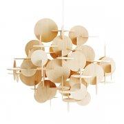 【Normann Copenhagen】「Bau pendant, large, natural」デザイン照明 ナチュラル(W570×H510mm)