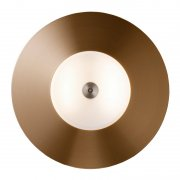 【New Works】「Ring 28 Outdoor ceiling/wall lamp, copper」シーリング/ウォールライト2灯 屋外用 銅(Φ280×H60mm)
