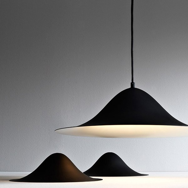 【Pholc】「Hans 50 pendant, black」ペンダントライト  ブラック(Φ500×H150mm)