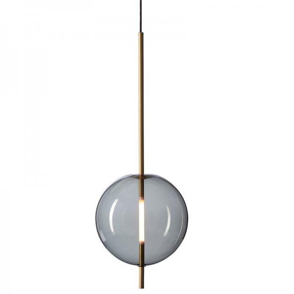 【Pholc】「Kandinsky 30 pendant, smoked grey」ペンダントライト  スモークグレー(Φ300×H800mm)