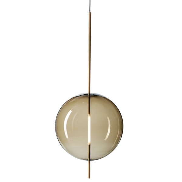 【Pholc】「Kandinsky 45 pendant, smoked brown」ペンダントライト  スモークブラウン(Φ450×H1080mm)