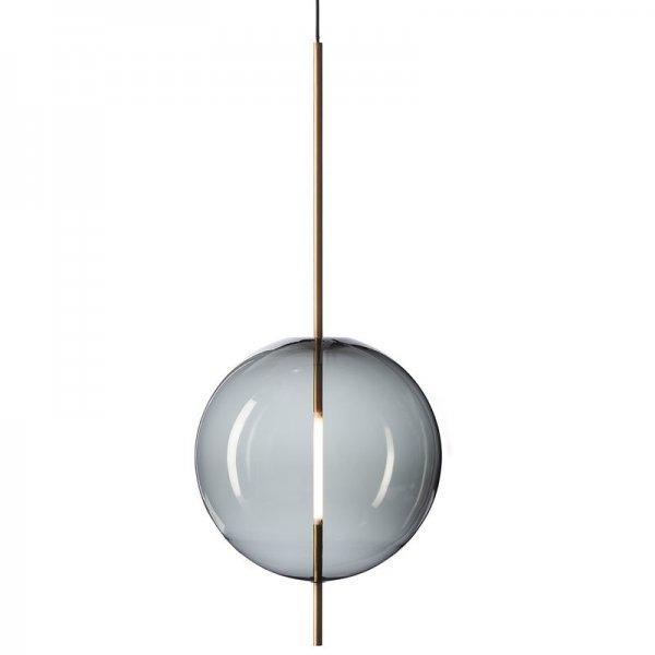 【Pholc】「Kandinsky 45 pendant, smoked grey」ペンダントライト  スモークグレー(Φ450×H1080mm)