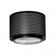 【Sammode】「G13 ceiling lamp, small, black」シーリングライト ブラック(Φ170×H150mm)