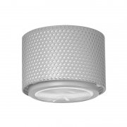 【Sammode】「G13 ceiling lamp, small, grey」シーリングライト グレー(Φ170×H150mm)