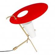 【Sammode】「G24 table lamp, vermilion red」テーブルランプ  レッド(Φ390×W200×H420mm)