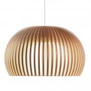 【Secto Design】「Atto 5000 pendant, walnut」ペンダントライト  ウォルナット(Φ340×H210mm)