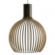 【Secto Design】「Octo 4240 pendant, black」デザイン照明  ブラック(Φ540×H680mm)