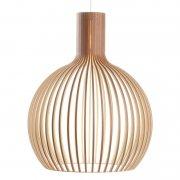 【Secto Design】「Octo 4240 pendant, walnut」デザイン照明  ウォルナット(Φ540×H680mm)