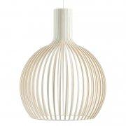 【Secto Design】「Octo 4240 pendant, white」デザイン照明  ホワイト(Φ540×H680mm)