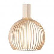 【Secto Design】「Octo Small 4241 pendant, birch」デザイン照明  バーチ(Φ450×H550mm)