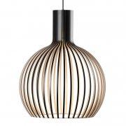 【Secto Design】「Octo Small 4241 pendant, black」デザイン照明  ブラック(Φ450×H550mm)