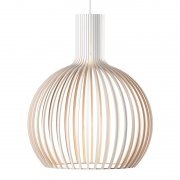 【Secto Design】「Octo Small 4241 pendant, white」デザイン照明  ホワイト(Φ450×H550mm)