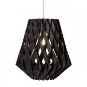 【Showroom Finland】「Pilke 28 pendant, black」ペンダントライト  ブラック(Φ280×H300mm)