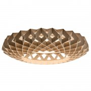 【Showroom Finland】「Pilke 65 ceiling lamp, birch」シーリングライト バーチ(Φ650×H130mm)