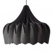 【Showroom Finland】「Pioni pendant, large, black」ペンダントライト  ブラック(Φ520×H420mm)