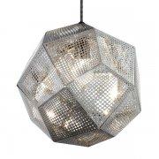 【Tom Dixon】「Etch pendant, steel」ペンダントライト スチール(Φ320×H275mm)