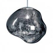 【Tom Dixon】「Melt pendant, chrome」ペンダントライト クロム(Φ500mm)