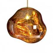 【Tom Dixon】「Melt pendant, gold」ペンダントライト ゴールド(Φ500mm)
