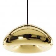 【Tom Dixon】「Void LED pendant, brass」ペンダントライト ブラス(Φ300×H155mm)