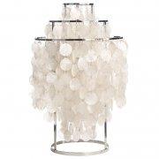 【Verpan】「Fun 1TM table lamp」テーブルランプ パール (Φ400×H650mm)