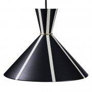 【Warm Nordic】「Bloom pendant, black - warm white」ペンダントライト ブラック-ウォームホワイト(Φ300×H240mm)