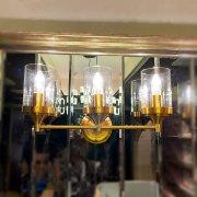 【特注照明】デザイン照明 ウォールライト 3灯(W508×D152×H234mm)