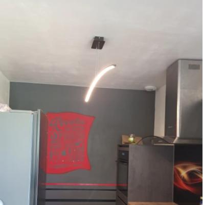 【QIYIMEI】LED デザイン照明 (W950〜W1200mm)