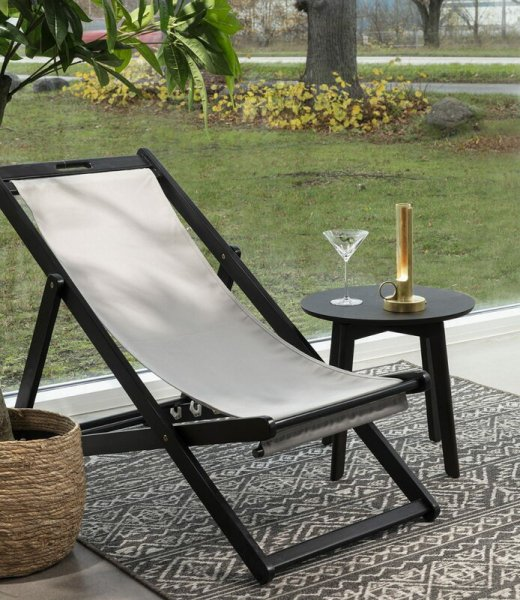 【Örsjö】「Visir portable table lamp, black」テーブルランプ ブラック(W104×D104×H264mm)