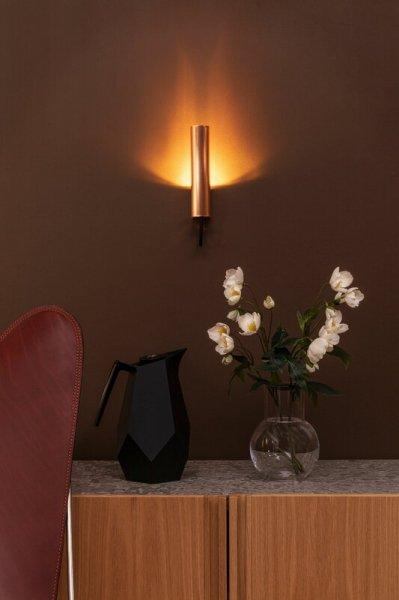 【Örsjö】「Visir wall lamp, hardwired, copper」ウォールライト 銅(W45×D65×H210mm)