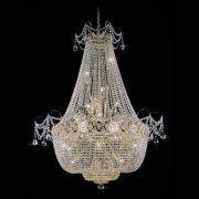 【Preciosa】最高級クリスタルエンパイア型シャンデリア 24灯(W1100×H1500mm)