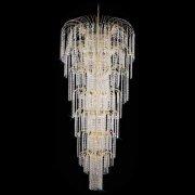 <b>【Preciosa】</b>最高級クリスタルシャンデリア 19灯(W700×H1500mm)