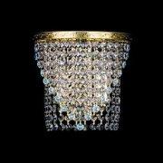 【Preciosa】最高級クリスタルウォールブラケット 2灯 ゴールド(W200×H190mm)