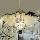 <B>【ALABASTER】</B>デザイン アスフールクリスタルシャンデリア 7灯(W700×D400×H400mm)