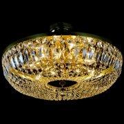 【JOSEF WRANOVSKY】チェコクリスタルシーリングシャンデリア 12灯(W600×H190mm)