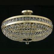 【JOSEF WRANOVSKY】チェコクリスタルシーリングシャンデリア 9灯(W500×H180mm)
