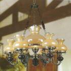 <b>【SUPRA】</b>ガラスシェードシャンデリア 7灯(W540×H710mm)