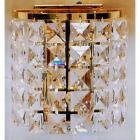 クリスタルブラケット 2灯 ゴールド(W180×H180mm)