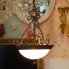 【KICHLER】米国・キチラー社アイアンシャンデリア 3灯(W390×H600mm)