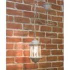 アンティーク調ペンダントランプ「オリエンタル・ホワイト」1灯(W150×D150×H370mm)