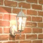 <b>【即納可!】</b>アンティーク調ウォールランプ「ヘキサゴン・ホワイト」1灯(W170×D200×H350mm)