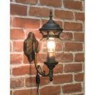 アンティーク調ウォールランプ「ボール・ブロンズ」1灯(W170×D270×H460mm)