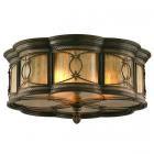 <B>【廃番】【CORBETT】</B>アメリカ製デザインシーリングシャンデリア「St. Moritz」3灯(W520×H220mm)