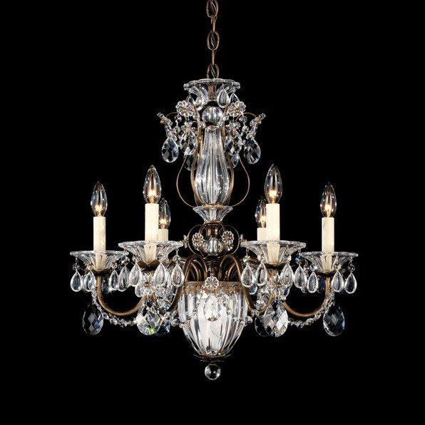 【SCHONBEK】 クリスタルシャンデリア『BAGATELLE』7灯(W530×H570mm)