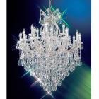 【CLT】クリスタルシャンデリア『MARIA THERESA』19灯 クローム(W910×H1140mm)